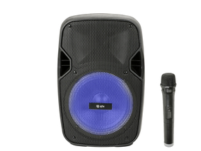 QTX PAL8 Mobiele Bluetooth PA Luidspreker Sound Box 300 Watt