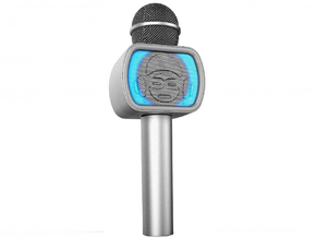 iDance Audio PM-20 Zilver Bluetooth Party Karaoke Microfoon