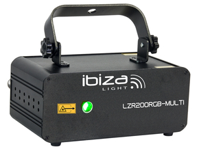 Ibiza Light LZR200RGB-Multi laser 200mW