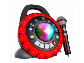 iDance Audio PB2 Zwart Party Ball I am The Star 9-in-1 super party machine
