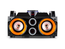 Party Sound SPEAKY200 bluetooth Party Station met USB/SD op accu 200W