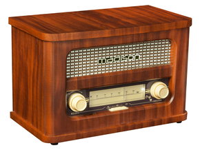 Madison MAD-RETRORADIO retro speaker nostalgie FM radio tuner met bluetooth