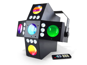 Ibiza Light CROSS-GOBOFX 2-in-1 RGBA LED lichteffect