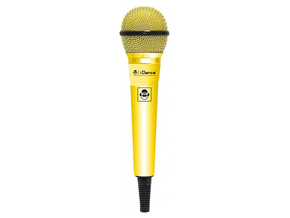 iDance CLM10 Color Mic dynamische microfoon yellow