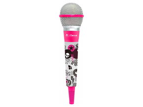 iDance CLM2 Color Mic dynamische microfoon pink