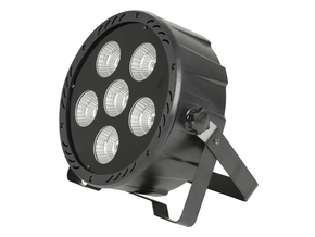 Qtx Light PL-COB6 PAR180 high power 3-in-1 COB LED Par spot 6x 30W RGB DMX