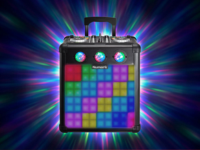 Numark Party Mix Pro all-in-1 DJ controller en portable PA speaker incl. Virtual DJ software