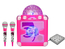 iDance Audio BC5L Roze Party Pack met DJ jingle soundpad en 2 microfoons