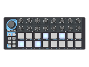 Arturia Beatstep Black Edition MIDI controller met sequencer en drumpads