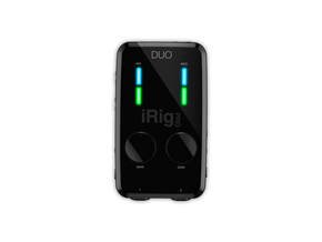 IK Multimedia iRig Pro Duo portable audio interface PC, Mac, iOS, Android