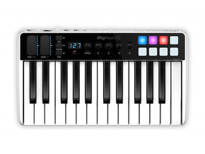 IK Multimedia iRig Keys I/O 25 MIDI keyboard controller met audio-interface voor iOS, Mac / PC