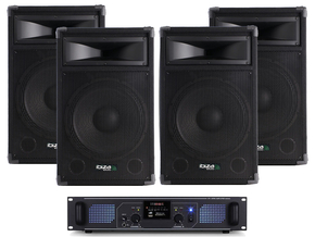 Carnaval Party Pack 5 Ibiza 3200W