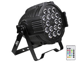 AFX Light PARLED1820IR Par Projector met RGBWAUV COB LED Par Can 18 x 18W