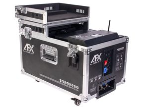 AFX STRATUS1500 professionele Fazer rookmachine 1500 Watt in flightcase