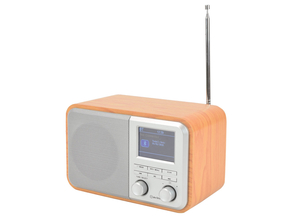 AV:Link Deco Light oplaadbare DAB+ Radio met FM / bluetooth en kleurendisplay