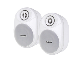 Clever Acoustics BGS 20T set 100V luidsprekers wit