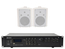 Adastra indoor speakerset 1 + A2 bluetooth versterker USB/SD 400W