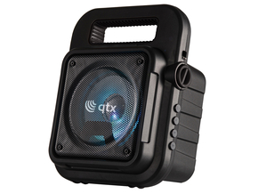 QTX EFFECT portable Stand-Alone Bluetooth Sound Box USB/FM/AUX en verlichting