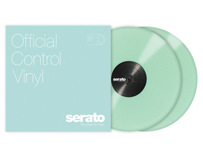 Serato Official Control Vinyl tijdcode vinyl set (Glow in the dark)