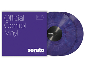 Serato Official Control Vinyl tijdcode vinyl set (Purple)