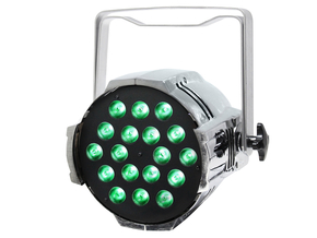 LEDJ Performer 18 Quad MKII RGBW LED PAR spot 18 x 8W (Chrome)