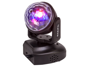 Ibiza Light LMH-ASTRO astro RGB LED movinghead 6x 3W