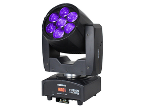 Equinox Fusion 120 Zoom MKII LED movinghead 7x 12W RGBW