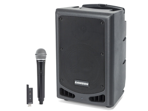 Samson Expedition XP208W draagbare bluetooth speaker incl draadloze microfoon