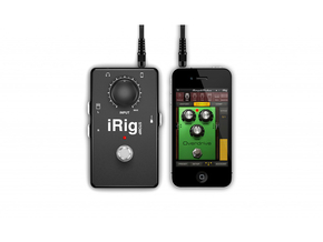 IK Multimedia iRig Stomp stompbox gitaar interface voor iOS