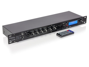 Ibiza Sound MM-PLAYER multimedia speler en mixer met bluetooth USB SD en FM radio