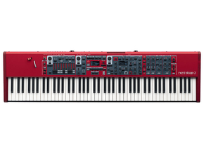 Nord Stage 3 88 hammer action 88 toetsen stage piano